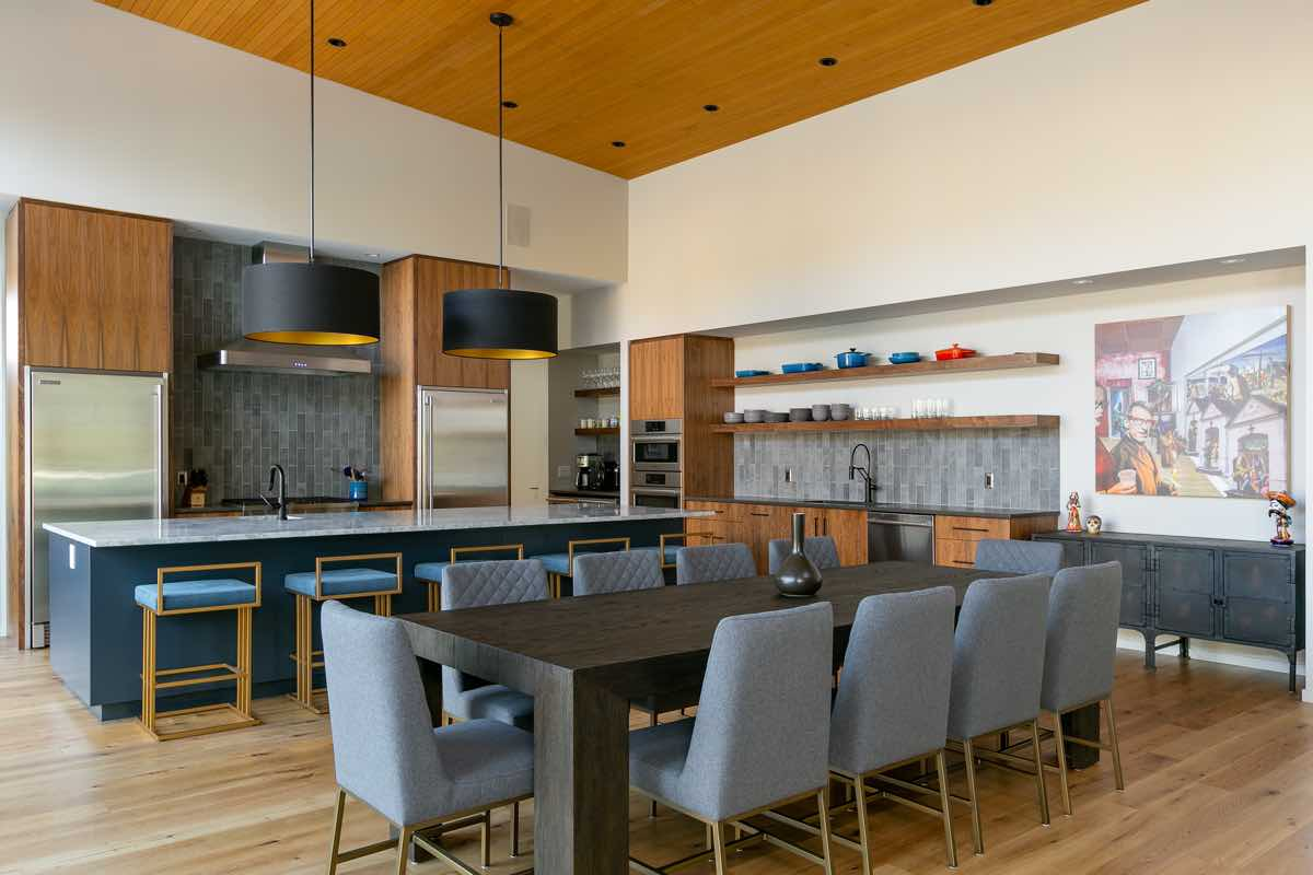 Contemporary West Coast Kitchen Design