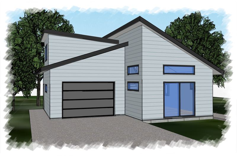 Modern 2 Story Carriage House Design