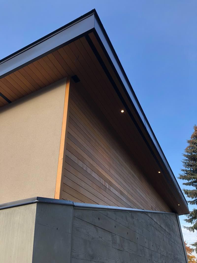 West Coast Custom Concrete Home Design