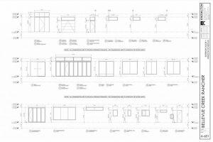 Bellevue Creek Rancher Exterior Door and Window Schedule