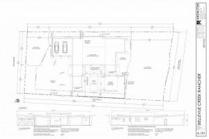 Bellevue Creek Rancher Site Plan