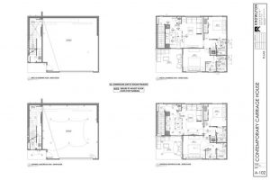 Contemporary Carriage House Plans
