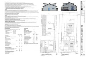 Modern 2 Storey Carriage Site Plan