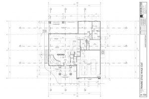 Prairie Style Walk-Out Floor Plan