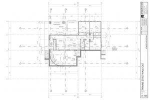 Prairie Style Walk-Out Lower Floor Plan