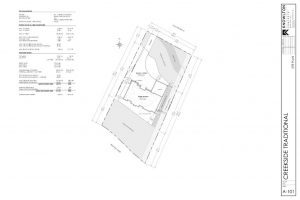 Creekside Traditional Siteplan