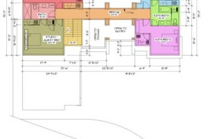 Creekside Traditional Upper Floor Space Planning