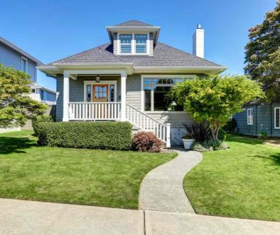 Single-family craftsman house exterior