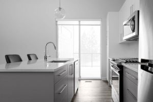 Contemporary Carriage House Kitchen