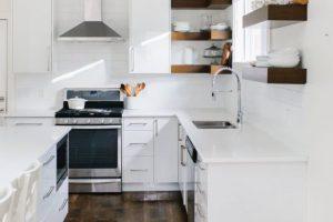 Modern Carriage House Kitchen