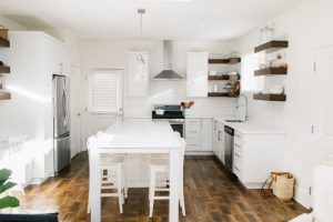 Simple Carriage House Kitchen