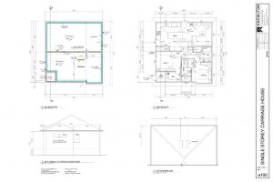 Single Storey Carriage House Plans