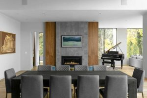 West Coast Contemporary Dining Room