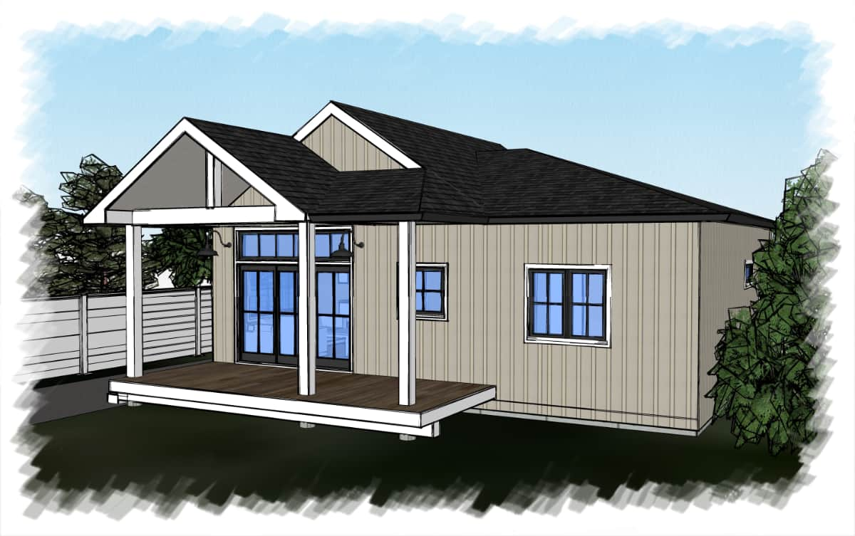 Coastal Carriage House Design